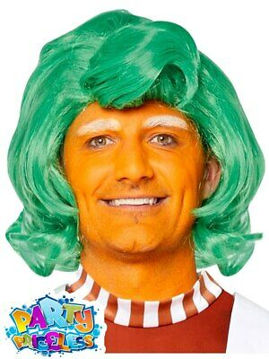 £8.99 • Buy Adult Oompa Loompa Wig Wonka Chocolate Factory Fancy Dress Outfit Accessory