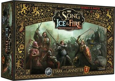 £119.95 • Buy A Song Of Ice And Fire: Starter Set Stark Vs Lannister BNIB