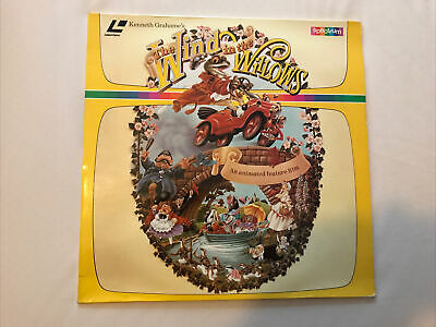 Laser Disc - The Wind In The Willows • 3£