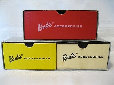 $ CDN19.99 • Buy Three Vintage Barbie Case Accessories Boxes For Use In Repairing Barbie Cases