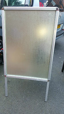 A-board Pavement Sign,advertising,menu,sandwich, Metal Frame Clip On With Legs • 45£
