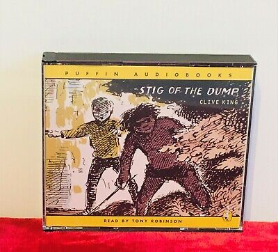 Stig Of The Dump - 3 X CD Audiobook Written By Clive King Read By Tony Robinson • 3.10£
