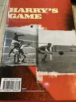 Harry's Game By Harry Gregg, Roger Anderson 1st Edition Hardback, 2002 Signed • 19.99£