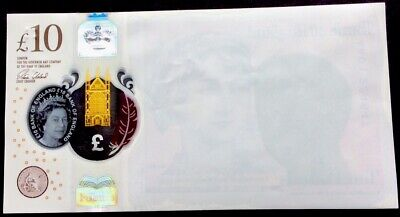 NEW RARE £10 Pound ERRO Note,BLANK FACE MISSING,Serial AA01 224647,Circulated • 22£