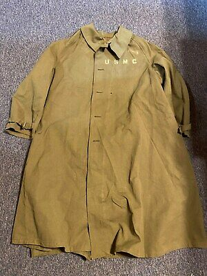 $10 • Buy WW2 USMC Belgium Army Overcoat Jacket