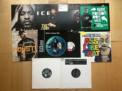 Ex Dj Vinyl Record Collection Set No 10 /10x 12inch  Rap Hip Hop USA 90s • 20£