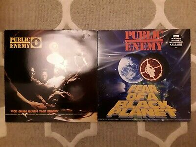 Public Enemy - Fear Of A Black Planet & Yo! Bum Rush The Show LPs Hip Hop Vinyl • 8£