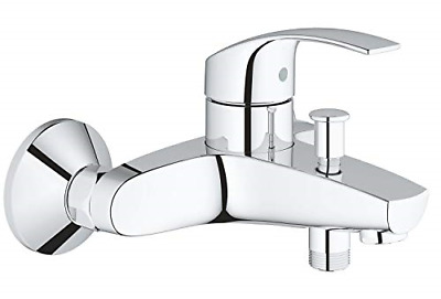 GROHE 33300002 | Eurosmart Single-Lever Bath/Shower Mixer Tap • 68.83£