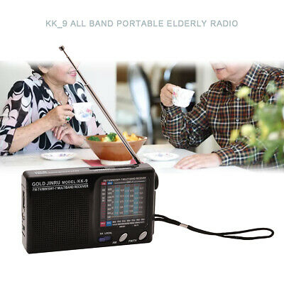 UK Full Band AM/FM Radio Telescopic Antenna Pocket Music Player Receiver Speaker • 8.94£