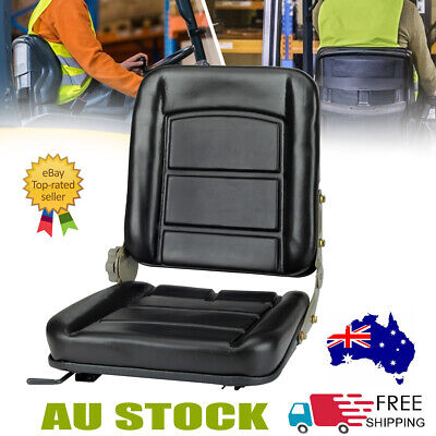 AU69.39 • Buy Tractor Seat Forklift Excavator Universal Adjustable Replacement Chair AU STOCK