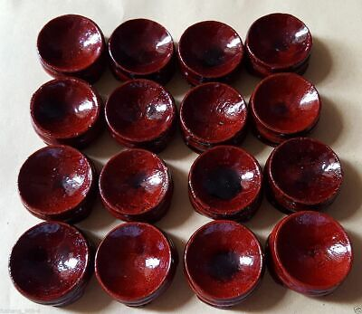 £4.99 • Buy 10PCS Wooden Stand Display 20-50mm Sphere Crystal Ball Eggs Minerals Polished AA