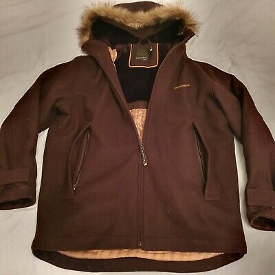 Duck And Cover Heavy Wool Blend Parker Mens Size L • 16£