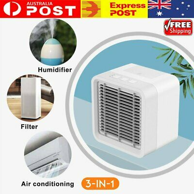 AU36.14 • Buy Portable Mini AC Air Conditioner Personal Unit Cooling Fan Humidifier Purifier T