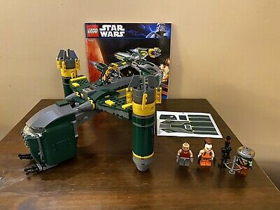 LEGO STAR WARS: BOUNTY HUNTER ASSAULT GUNSHIP (7930) Complete Unused Stickers • 40£