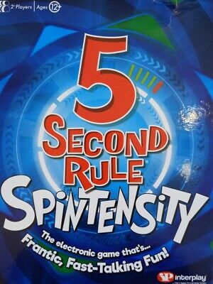 AU26.56 • Buy 5 Second Rule Spintensity 2+ Players BOX WEAR