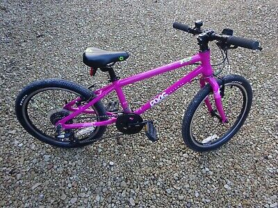 """View Details Frog 55 Children's Pink Bike With 20"""" Wheels **Excellent Used Condition** • 300.00£"""