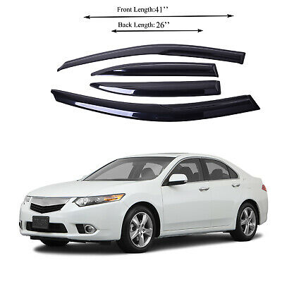 $43.79 • Buy Fits For Acura TSX 0412 Acrylic Side Window Vent Visor Sun Rain Deflector Guard