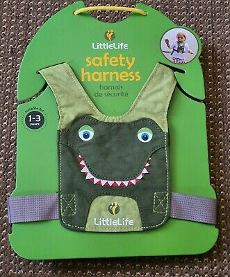 Little Life LITTLELIFE TODDLER REINS - Crocodile Safety Harness Fast 1st 📫  • 9.85£