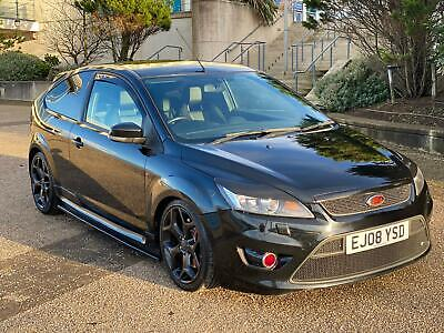 Ford Focus ST3 MK2 Facelift Panther Black 2008 Leather *340bhp* *Modified* CP340 • 6,900£