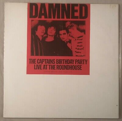 THE DAMNED 'The Captains Birthday Party' Blue Vinyl Lp Original 1986 Sealed.  • 5.50£