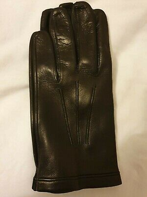 Nappa Leather Glove Unlined Black Size 8 • 43£
