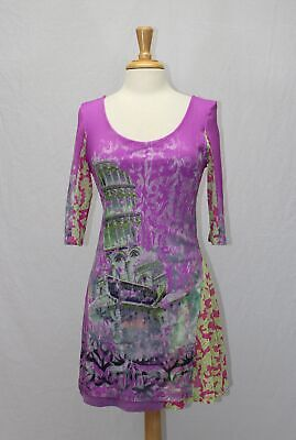AU85.21 • Buy Save The Queen Tunica Stretch Knit Mesh Tunic Dress Size XL