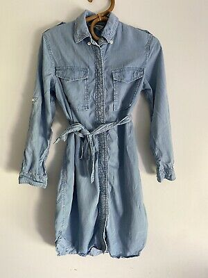 AU35 • Buy Country Road Chambray Shirt Dress Size 4