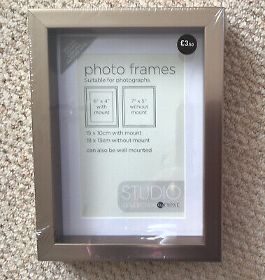 Photo Frame 7x5 From Next Rose Gold New! • 3.50£