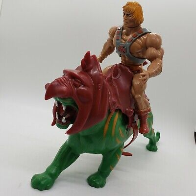 $93.99 • Buy MOTU He-Man And Battle Cat Masters Of The Universe Vintage Lot