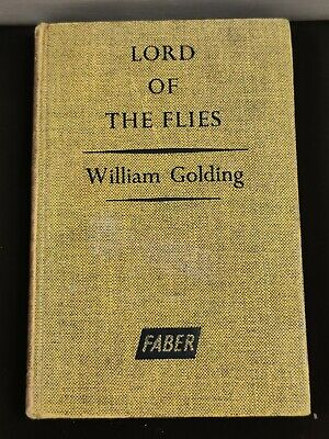 Lord Of The Flies William Golding Faber HB 1962 • 15£