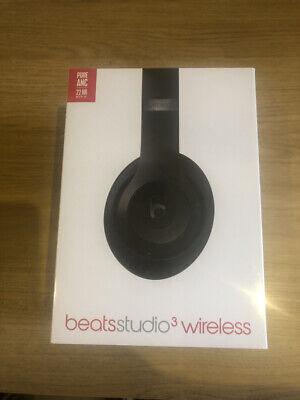 NEW SEALED Beats By Dr. Dre Studio3 Studio Wireless Headphones - Matte Black • 199£