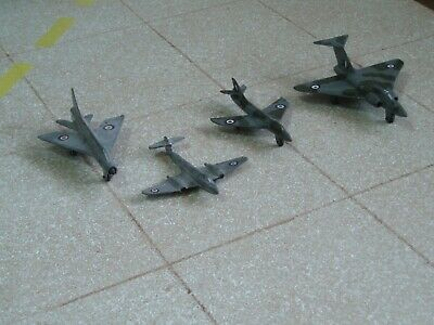 Collection Of 4 Vintage Dinky Die-cast Aircraft (batch1) • 25£