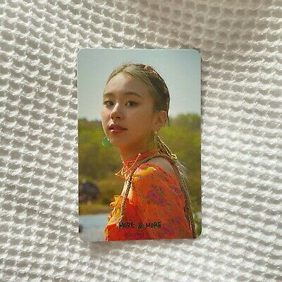 KPOP TWICE Official Chaeyoung More & More Photocard UK SELLER • 5£