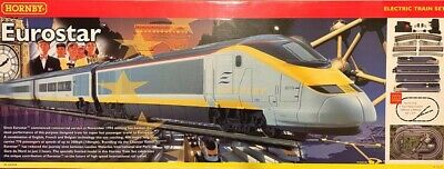 Hornby Eurostar B1013 Train Set, Boxed, Excellent Condition • 30£