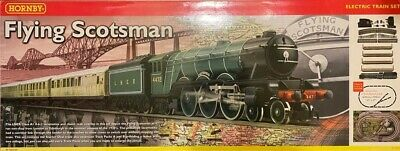 Hornby Flying Scotsman R1039 Train Set, Used, Boxed, Excellent Condition. • 35£