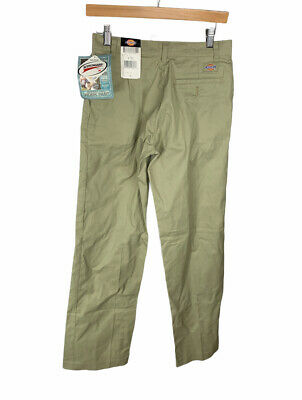£14.54 • Buy New Dickies Women's Flat Front Twill Pant Tan Size 4 Free US Shipping