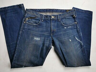 Melting Pot Mens Straight Leg  Jeans W 35 L34 Vtg 90s • 21.99£