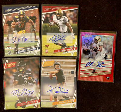 $ CDN6.99 • Buy Awesome Auto Lot  2020 Panini Chronicles White Vaughn & More 9 Cards