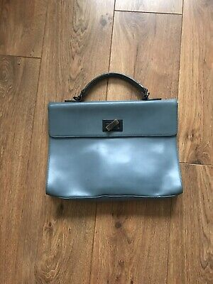 Coccinelle  Beautiful Blue Leather Mini Bag - Good Condition • 10£