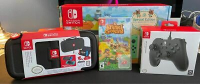 $ CDN600 • Buy NEW Nintendo Switch Console: Animal Crossing Special Edition + Game, Accessories