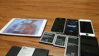 $ CDN45.74 • Buy IPhone Lot IPad A1432 Scrap Gold Recovery Samsung LG Lot Of 19  (For Parts)