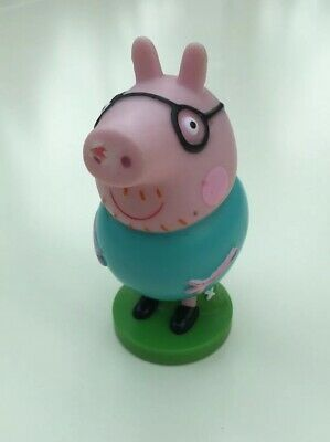Daddy Pig Stamper Figure Peppa Pig Character Toy Stamp • 1.99£