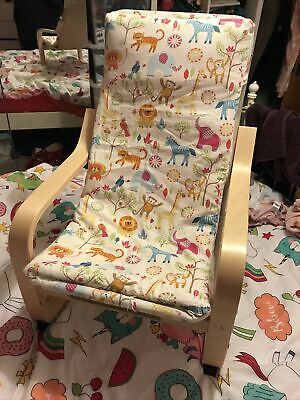 Ikea Kids Poang Comfy Reading Chair • 10£