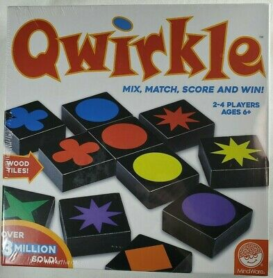 $ CDN24.67 • Buy NEW Qwirkle Strategy Board Game Family 6+ Yrs Senior Memory MENSA 5 Star Rated
