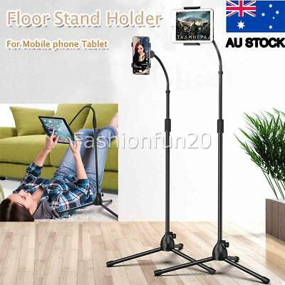AU23.95 • Buy Adjustable Tripod Floor Stand Flexible Tablet Holder Support For Tablets Ipad AU