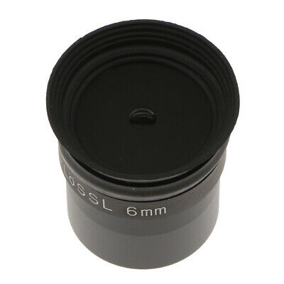 Telescope Eyepiece PL6mm Plossl Lens 1.25inch 50 Degree Wide Field Of View Comes • 11.86£