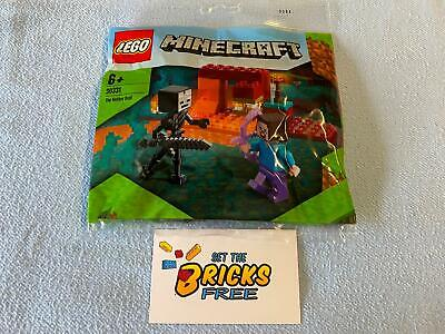 AU9.99 • Buy Lego Minecraft 30331 The Nether Duel Polybag New/Sealed/Hard To Find