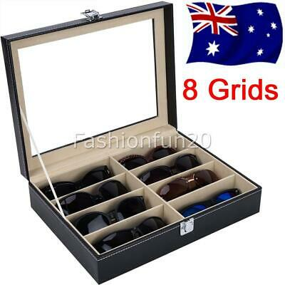 AU21.95 • Buy 8 Grids Sunglasses Glasses Display Storage Case Box Organizer Holder 1-Layer AUS