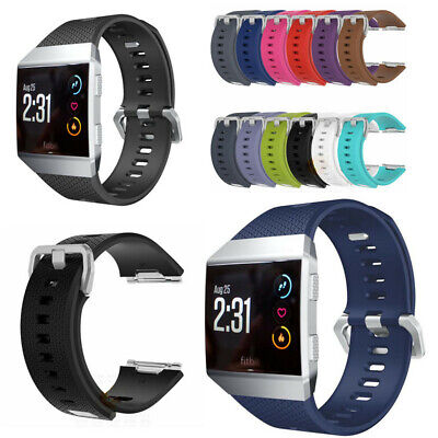 $ CDN4.67 • Buy For Fitbit Ionic Wristband Replacement Band Buckle Metal Tracker Secure Strap
