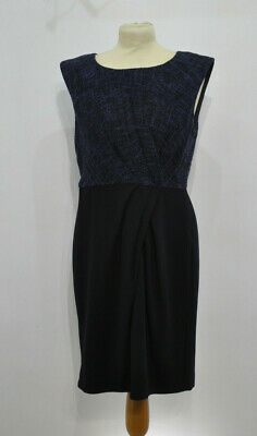 AU89.32 • Buy ** LK Bennett ** Navy / Blue Shift Dress ** Halina ** UK 14 **